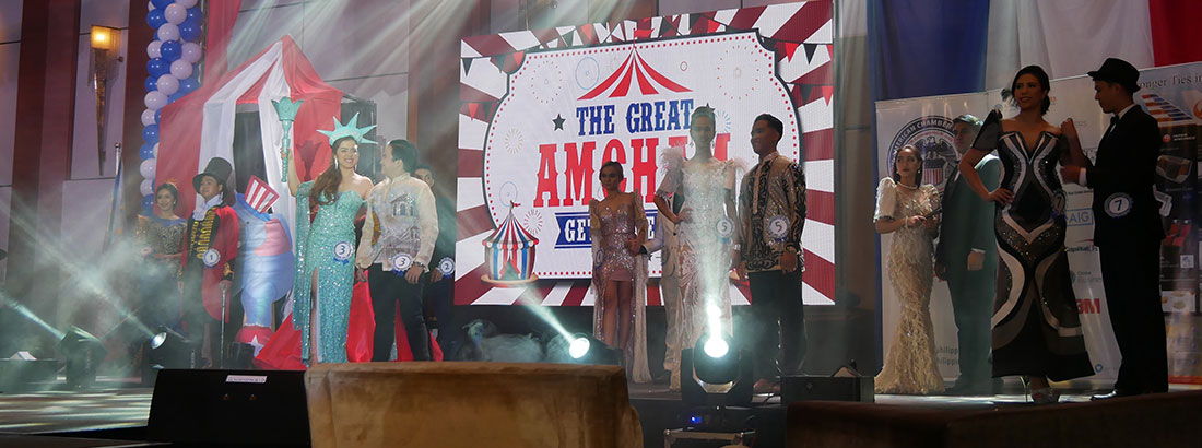 The candidates for Mr. & Ms. Amcham 2019